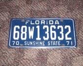 License Plate Florida