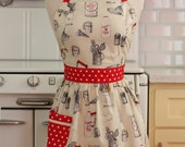 Retro Apron Baking Theme on Cream - CHLOE