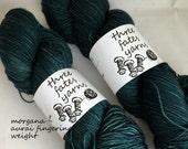 morgane - aurai fingering weight merino yak nylon sock yarn