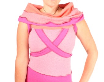 Born With Roses In Her Eyes - 100% CASHMERE - MEDIUM LARGE