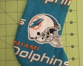 NFL Miami Dolphins Christmas Tree Ornament