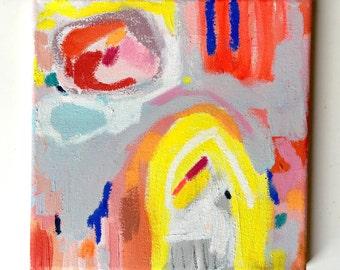 8 x 8 original painting by Brenna Giessen