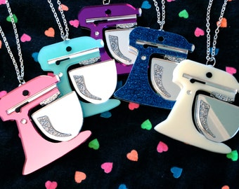 Kitchenaid Mixer Necklace