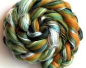Merino Wool and Silk Blend Top - Mustard Tree 50g 100g