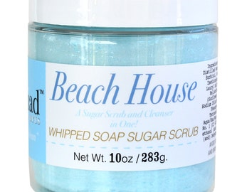 Beach House Whipped Soap Sugar Scrub