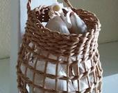 Storage for Elephant Garlic - Elephant version of the regular sized garlic basket