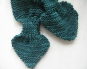 Forest Green Keyhole Scarf - Baby