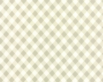 Vintage Picnic - Check in Gray: sku 55124-15 cotton quilting fabric by Bonnie and Camille for Moda Fabrics - 1 yard