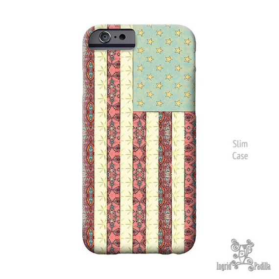Flag iPhone Case, iPhone 7 case, iPhone 7 plus case, iPhone 6 case, iPhone 6s Case, American Flag, iPhone 6s plus case, iPhone 5s case, BOHO