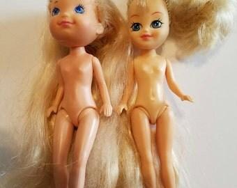 My Little Pony Vintage Megan Dolls