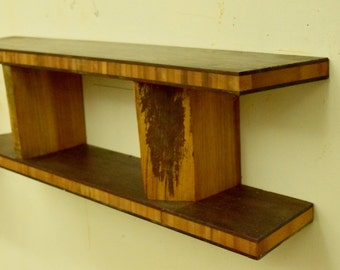 No. 50 - Bamboo Plywood and Elm shelf