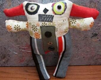 Primitive Folk Art Doll Ogden