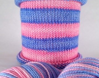It's My Potty: Hand-dyed gradient self-striping sock yarn, 80/20 SW merino nylon