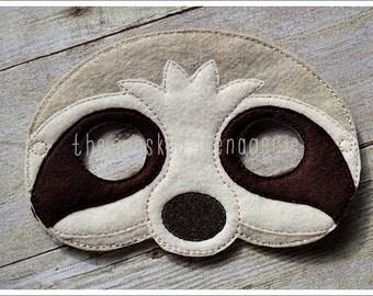 Sloth Mask Lazy Sloth Mask Felt Mask Halloween Mask Easter Basket  Pretend Play Creative Play Mask Imaginative Play