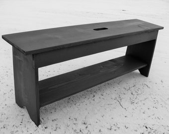 Rustic Benches Farmhouse Bench Coffee Table Entryway Storage Modern Cottage Decor Custom