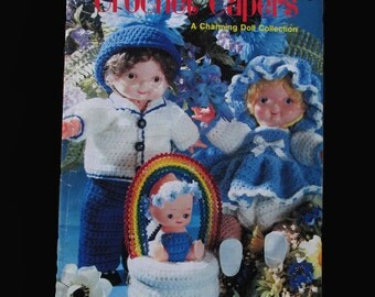 Crochet, Crochet Patterns, How to crochet, Crochet Capers A Charming Doll Collection