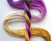 """Size 20 """"Fig"""" hand dyed thread tatting crochet cotton"""