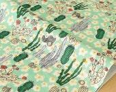 Japanese Fabric - Cactus double gauze - B - 50cm