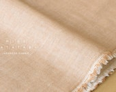Japanese Fabric Kokochi Double gauze - BE -  50cm