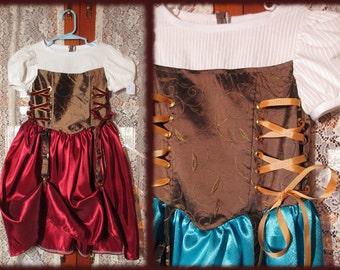 Girl's Steampunk Princess Dress