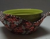 Microwave Bowl Cozy or Potholder Synergy Fabric