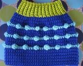 Dog Sweater Vest - Bahama Mama - Size M - Ready to Ship Today
