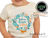 lettuce turnip the beet ® trademark brand OFFICIAL SITE - organic undyed cotton - short sleeve bodysuit - eco-friendly