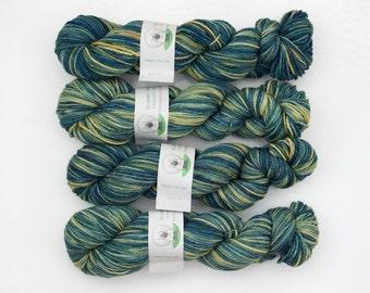 Clearance - Superwash Merino Wool Sock Yarn in Kelp by Blarney Yarn