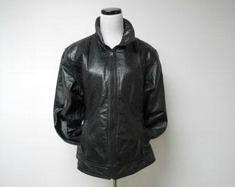 """Maxima . Wilsons black jacket . large . bust 43"""""""