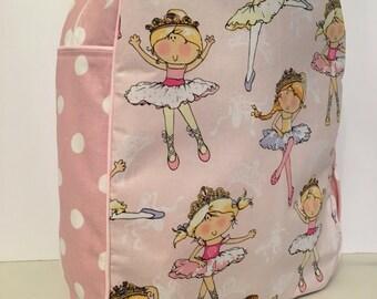 Handmade Ballerina/Dancer Backpack -Ready to Ship