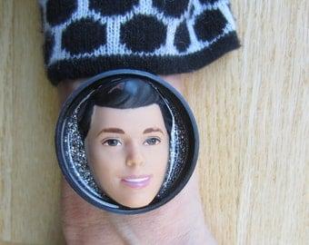 PRINCE CHARMING upcycled Ken Doll bracelet