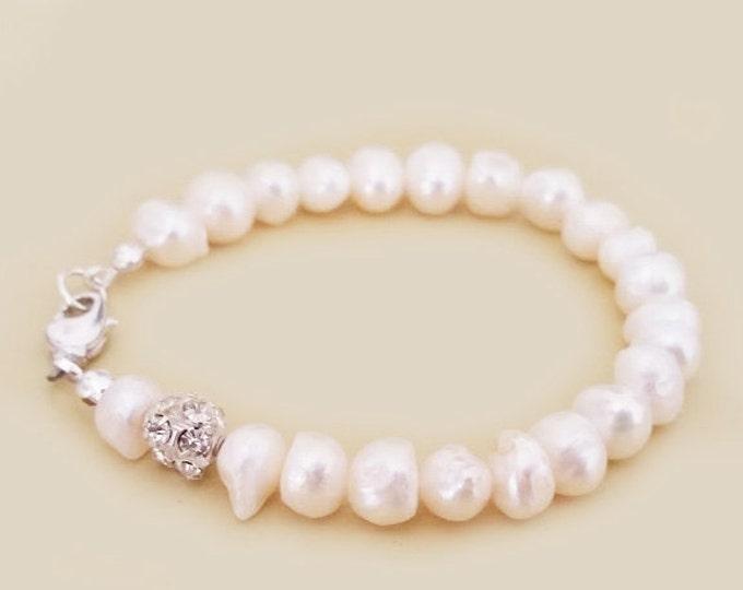 Freshwater Pearl Bracelet for Classic Weddings
