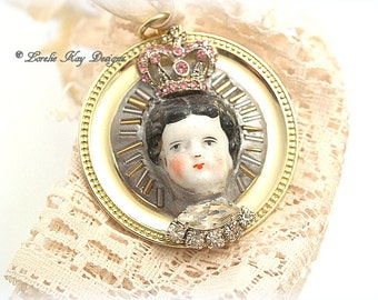 Princess China Doll  Ornament Small Elegnat Doll Theme Ornie Stocking Doll Lover Gift