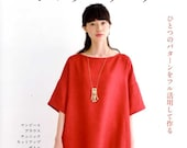 Simple Clothes that can be worn All Seasons - Japanese Craft Pattern Book MM