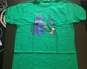 Cindy Lou Who T-Shirt in Green - Sized Men's Large