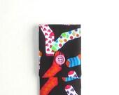 Knitting Needles Mini Case for Circular Needles, Circulars on the Go - Jazzed Up Socks