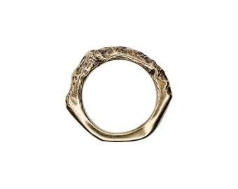 Porterness Studio's Bronze Bitey Ring II
