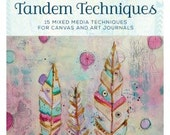 On Sale! Tandem Techniques: 15 Mixed Media Techniques for Canvas and Art Journals DVD