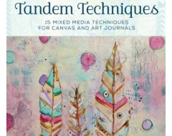 Tandem Techniques: 15 Mixed Media Techniques for Canvas and Art Journals DVD
