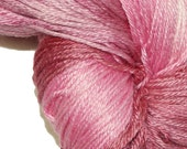 HEART'S LOVE in Hand Dyed Poet Seat Fingering Weight Superwash Merino and Silk Yarn