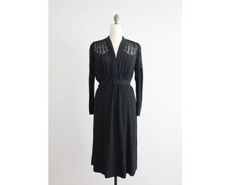 25% OFF SALE chanel dress / 1930s dress / chanel adaptation label