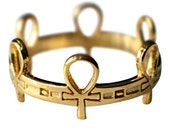Ankh Ring, Custom  MADE-TO- ORDER
