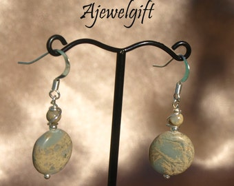 Majestic Imperial Jasper Earrings 16015