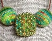 Chunky Three Bead Necklace Kit