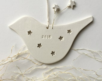 2016 Commemorative Dove Christmas Ornament by Paloma's Nest limited edition shooting stars