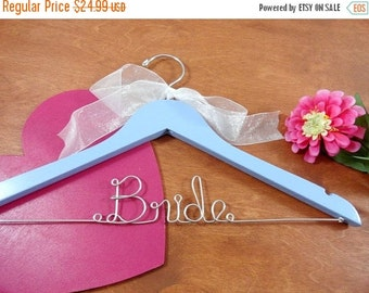20% OFF SALE Bride Wire Hangers Bridal Hangers Wedding Dress Hangers Bridal Accessories Bride Coat Hangers Personalized Hangers