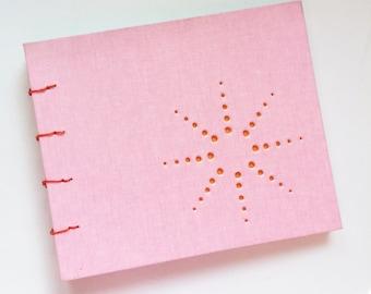 burst design journal ... pink CUSTOM order for allison