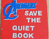 The Avengers inspired Quiet Book (PATTERN)