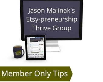 Become a Thriver - How to Make More Sales on Etsy, Selling on Etsy Tips, Be Successful on Etsy, Etsy Sales Tips How to Improve Sales on Etsy