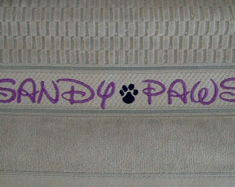 Towel for your Furry Friends - ONE Towel